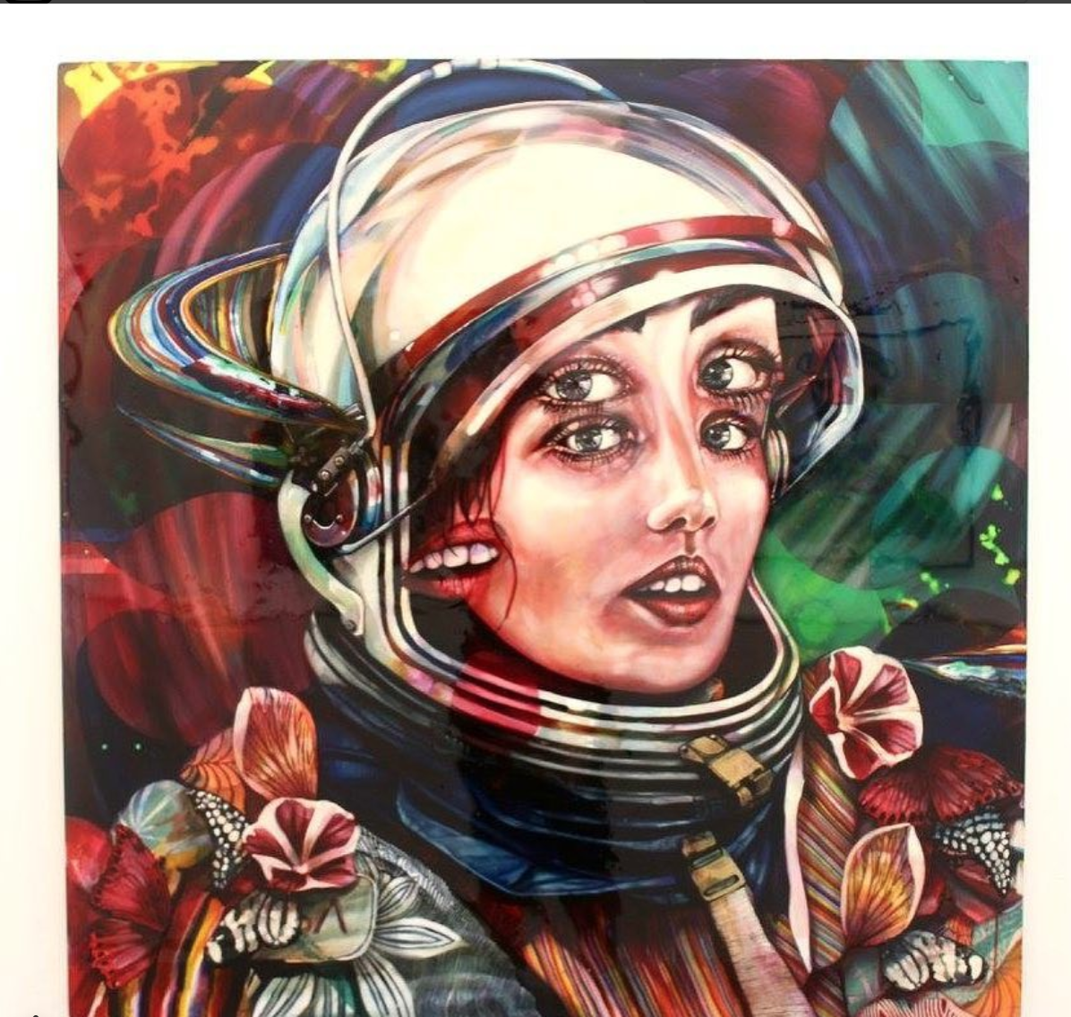 mini review radiant space art gallery los angeles the movement blog kindall payne