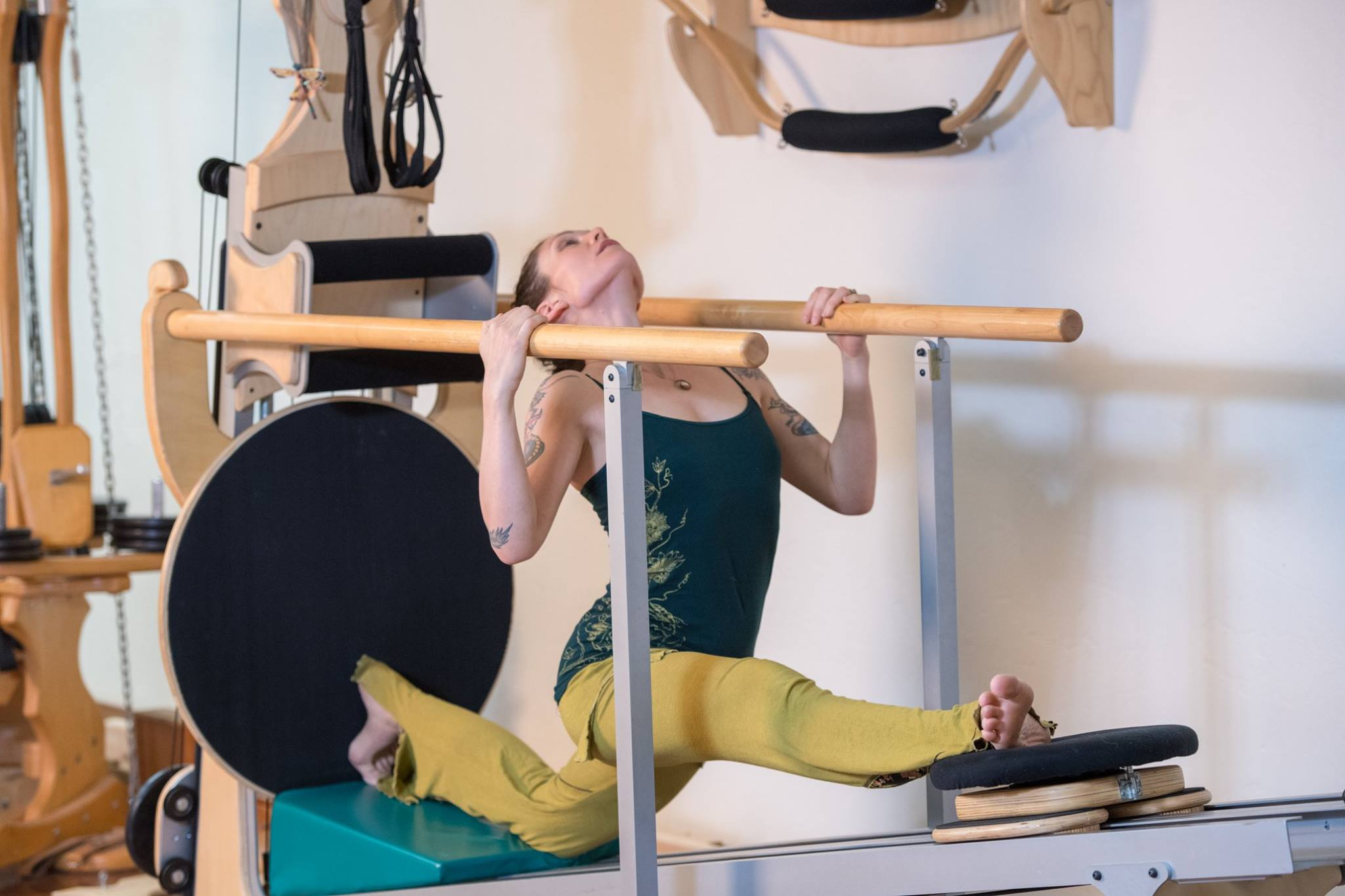 domini anne specialized gyrotonic and gyrokinesis master trainer on the gyrotonic and yoga communities california